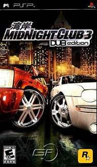 Rent Midnight Club 3: DUB Edition for PSP Games