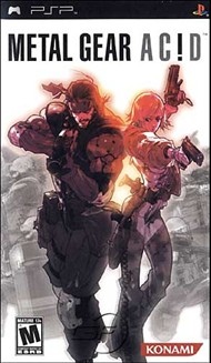 Rent Metal Gear Acid for PSP Games