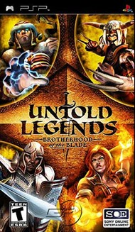 Rent Untold Legends: Brotherhood of the Blade for PSP Games