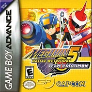 Rent Mega Man Battle Network 5: Team Protoman for GBA