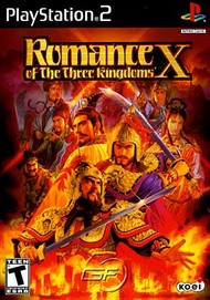 Rent Romance of the Three Kingdoms X for PS2