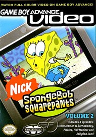 Rent SpongeBob SquarePants Volume 2 (GBA Video) for GBA
