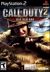 Rent Call of Duty 2: Big Red One for PS2