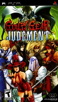Rent Guilty Gear: Judgement for PSP Games