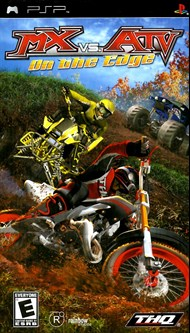 Rent MX vs ATV: On the Edge for PSP Games