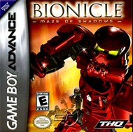 Rent Lego Bionicle: Maze of Shadows for GBA