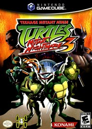 Rent Teenage Mutant Ninja Turtles 3: Mutant Nightmare for GC