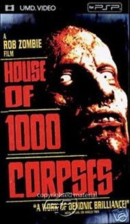 Rent House of 1000 Corpses for PSP Movies