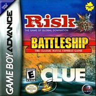 Rent Risk - Battleship - Clue for GBA