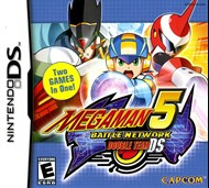 Rent Mega Man Battle Network 5: Double Team DS for DS