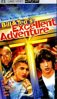 Rent Bill & Ted's Excellent Adventure for PSP Movies