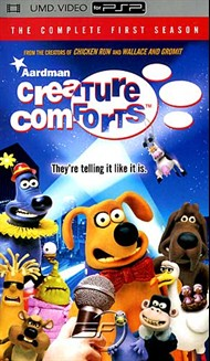 Rent Creature Comforts: 1st Season for PSP Movies