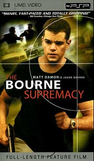 Rent Bourne Supremacy for PSP Movies