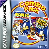 Rent Sonic Advance + Sonic Pinball Party for GBA