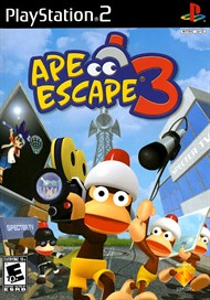 Rent Ape Escape 3 for PS2