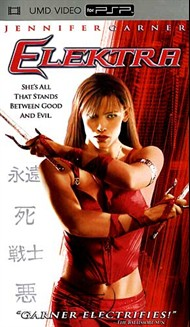 Rent Elektra for PSP Movies