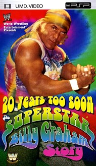 Superstar Billy Graham is one of the most colorful performers to enter the world of championship wrestling. His career is chronicled with a feature-length documentary accompanied by some of his greatest matches (presented in their entirety) and his most memorable promos. See Graham's beginnings in the AWA. Watch him become a WWF champion, see how his once-explosive career was cut short by his own actions, and hear how his steroid use haunts him to this day. Full-length matches include: vs. Armando Rodriguez on AWA All-Star Wrestling, 8/25/73; vs. Angel Rivera on AWA All-Star Wrestling, 10/6/