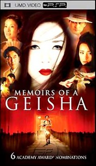 Rent Memoirs of a Geisha for PSP Movies