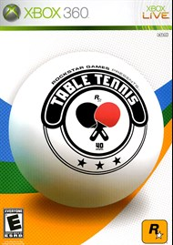 Rent Rockstar Games Presents Table Tennis for Xbox 360