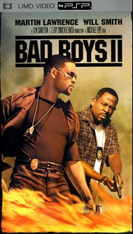 Rent Bad Boys II for PSP Movies