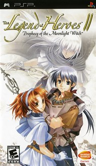 Rent Legend of Heroes II: Prophecy of the Moonlight Witch for PSP Games