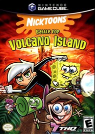 Rent Nicktoons: Battle for Volcano Island for GC