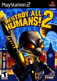 Rent Destroy All Humans 2 for PS2