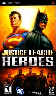 Rent Justice League Heroes for PSP Games