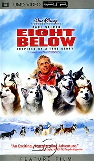 Rent Eight Below for PSP Movies