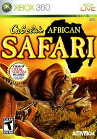 Rent Cabela's African Safari for Xbox 360