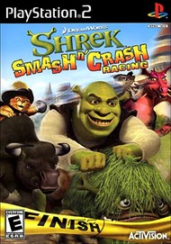 Rent Shrek Smash 'n' Crash Racing for PS2