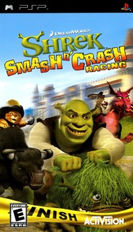 Rent Shrek Smash 'n' Crash Racing for PSP Games