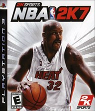 Rent NBA 2K7 for PS3