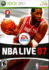 Rent NBA Live 07 for Xbox 360