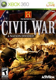 Rent History Channel: Civil War - A Nation Divided for Xbox 360