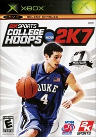 Rent College Hoops NCAA 2K7 for Xbox