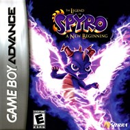 Rent Legend of Spyro: A New Beginning for GBA