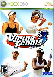 Rent Virtua Tennis 3 for Xbox 360