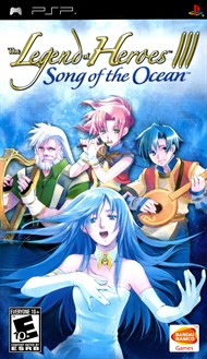 Rent Legend of Heroes III: Song of the Ocean for PSP Games
