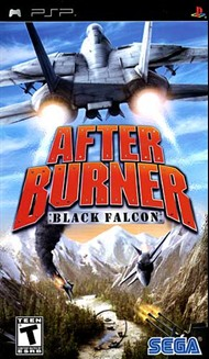Rent After Burner: Black Falcon for PSP Games