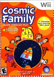 Rent Cosmic Family for Wii