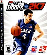 Rent College Hoops NCAA 2K7 for PS3