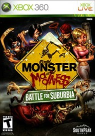Rent Monster Madness: Battle for Suburbia for Xbox 360