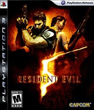 Rent Resident Evil 5 for PS3