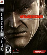 Rent Metal Gear Solid 4: Guns of the Patriots for PS3