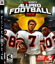 Rent All-Pro Football 2K8 for PS3