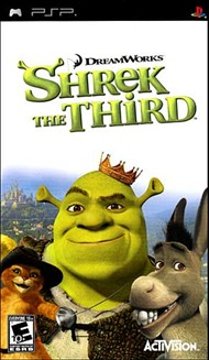 Rent Shrek the Third for PSP Games