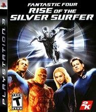 Rent Fantastic 4: Rise of the Silver Surfer for PS3