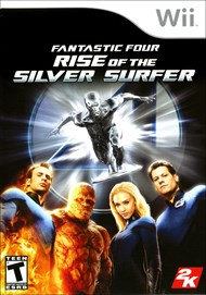 Rent Fantastic 4: Rise of the Silver Surfer for Wii