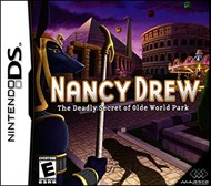 Rent Nancy Drew: Deadly Secret of the Olde World Park for DS